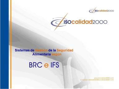 Portada SGSA BRC IFS