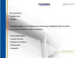 auditores, auditoría, ISO 9001, ISO 14001, OHSAS 18001, ISO