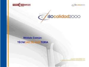 Auditoría, ISO 9001, ISO 14001, OHSAS 18001, ISO 19011